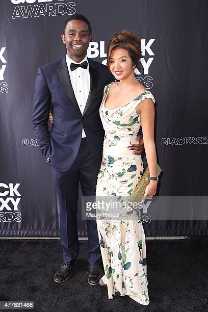Brandon Scott and Jenn Liu arrive at The BlackSexy Awards 2015 at UTA on June 19 2015 in Beverly Hills California