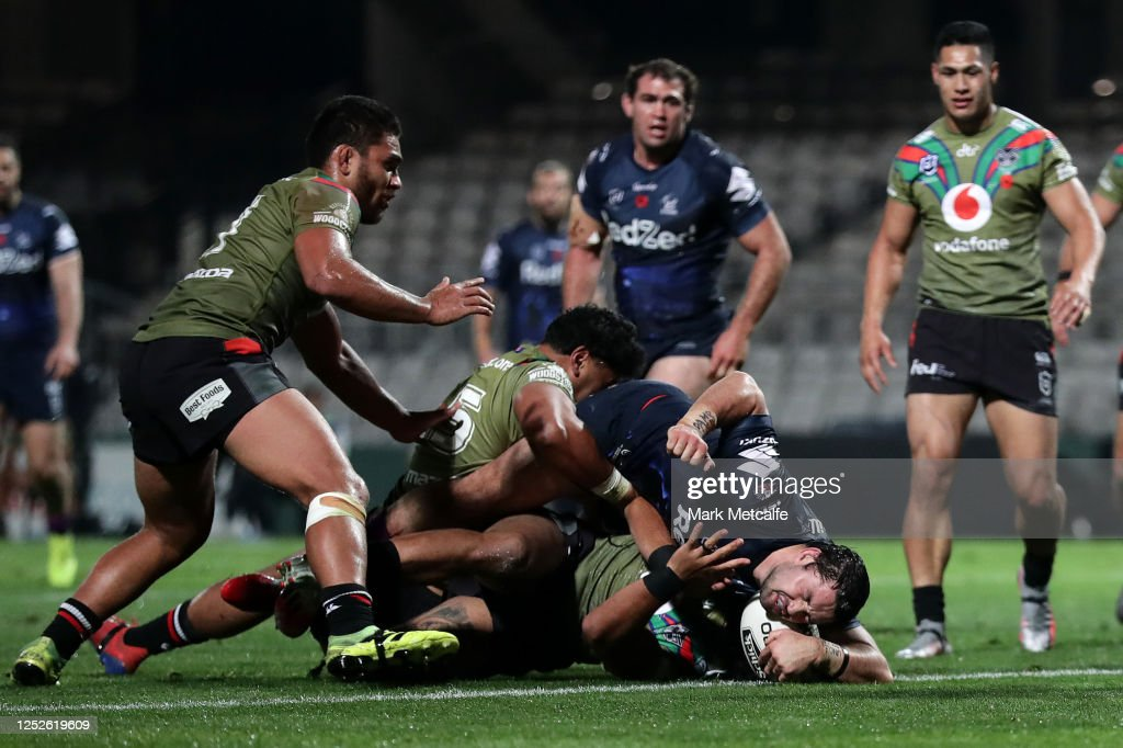 NRL Rd 7 - Storm v Warriors : News Photo