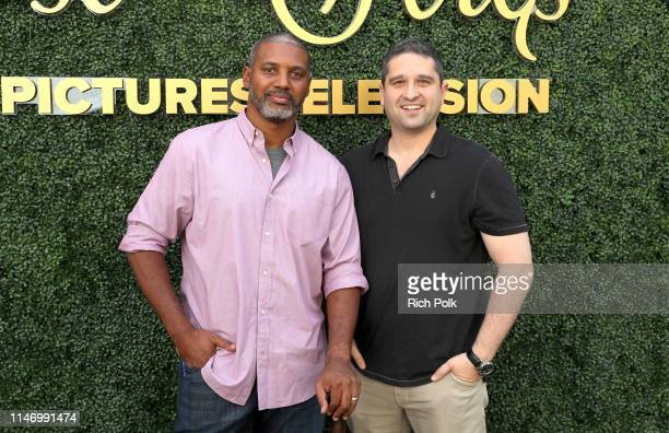 Brandon Sonnier and Brandon Margolis attend Sony Pictures Television's Emmy FYC Event 2019 'Toast to the Arts' on May 04 2019 in Los Angeles...