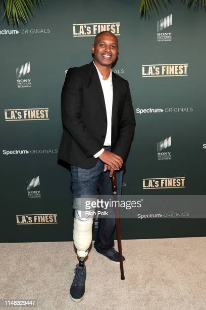 Brandon Sonnier attends Spectrum Originals and Sony Pictures Television Premiere Party for LA's Finest at Sunset Tower on May 10 2019 in Los Angeles...