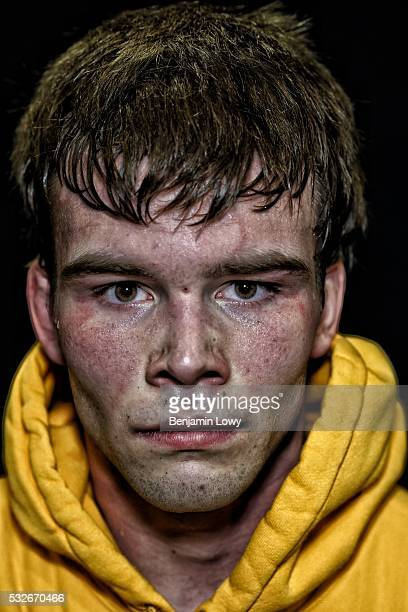 Brandon Sorensen University of Iowa hundredandfortyninepound weight class Portraits of wrestlers competing during the 2016 NCAA Division I wrestling...