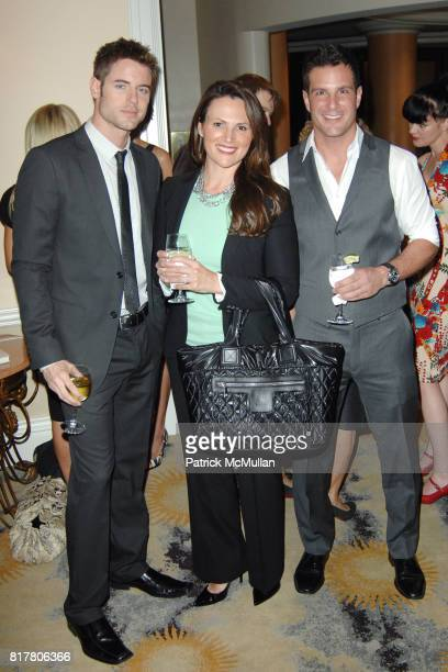 Brandon Stoughton Kim Kahl and Jay Jablonski attend AFRICA FOUNDATION HOSTS LUNCHEON TO HONOR AUDREY IRMAS at Beverly Hills Hotel on October 27 2010...