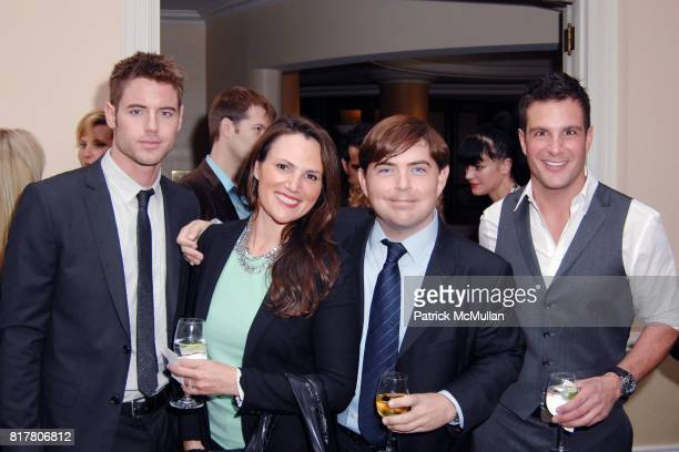 Brandon Stoughton Kim Kahl Jeremy Murphy and Jay Jablonski attend AFRICA FOUNDATION HOSTS LUNCHEON TO HONOR AUDREY IRMAS at Beverly Hills Hotel on...