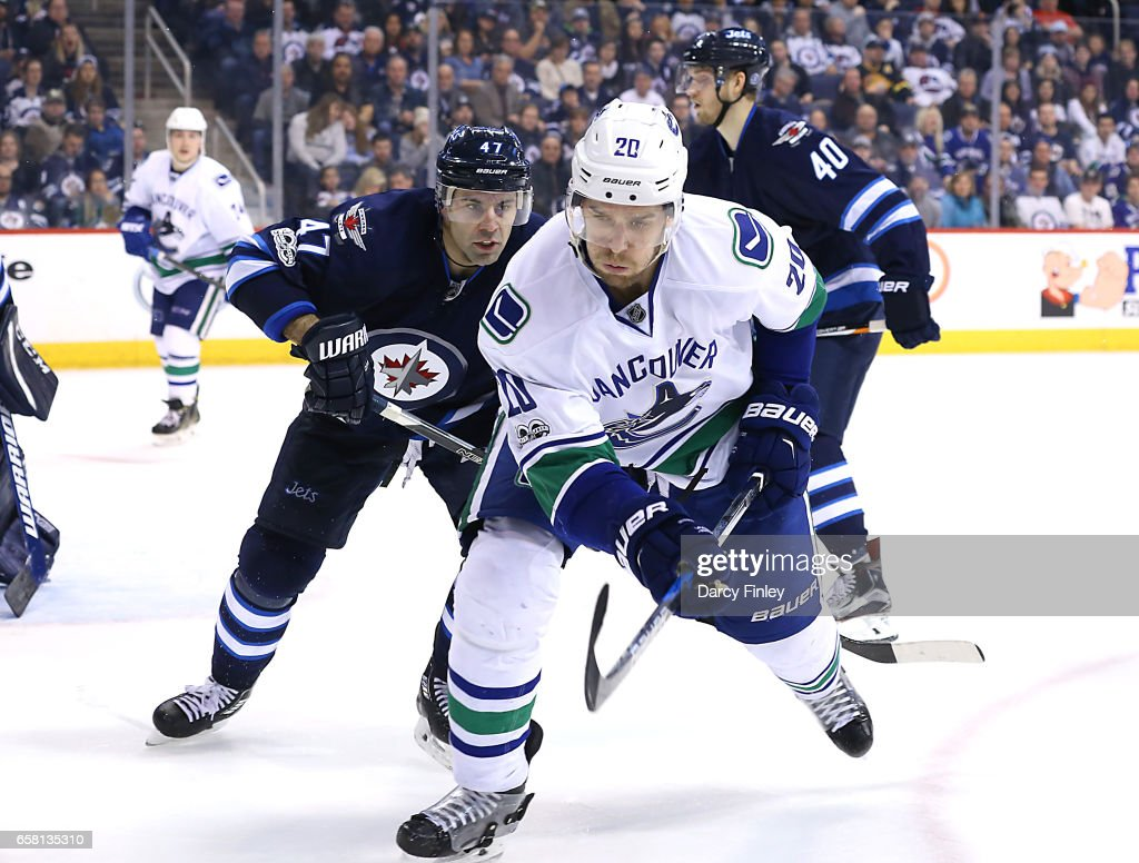 Vancouver Canucks v Winnipeg Jets