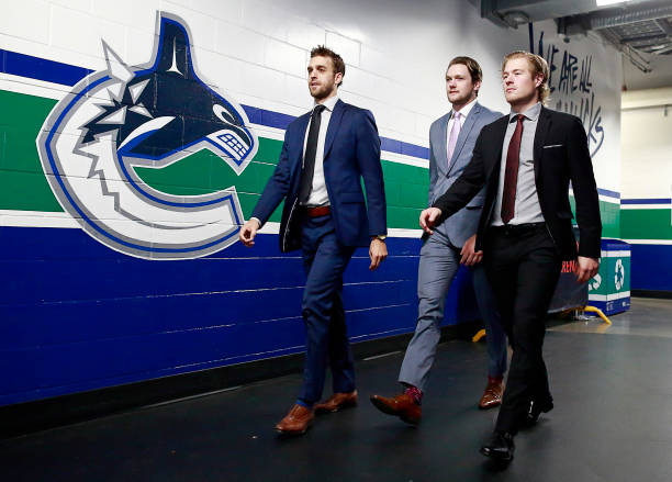 CAN: Detroit Red Wings v Vancouver Canucks