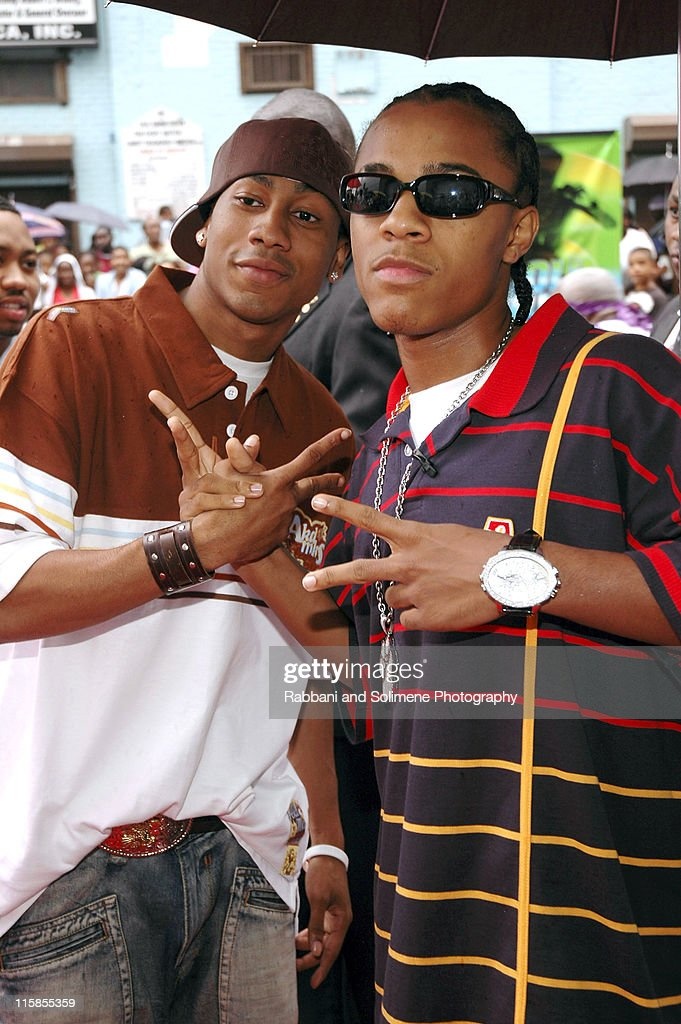 Brandon T. Jackson and Bow Wow during 2005 Urban World ...