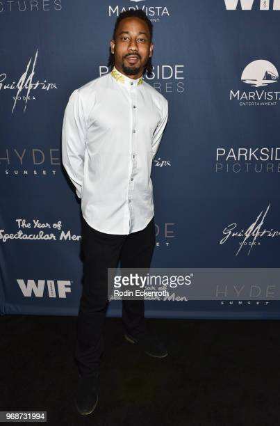 Brandon T Jackson arrives at the premiere of MarVista Entertainment's The Year of Spectacular Men at AMC DineIn Sunset 5 on June 6 2018 in Los...