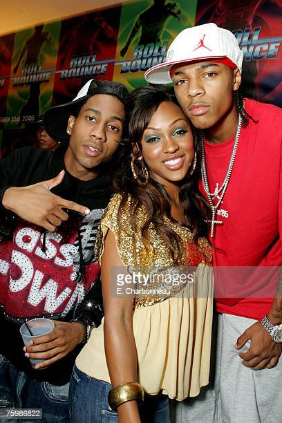 Brandon T Jackson Meagan Good and Bow Wow
