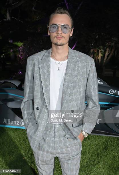 Brandon Thomas Lee attends a private dinner hosted by Alejandro Agag to celebrate the World Premiere of Formula E documentary And We Go Green during...
