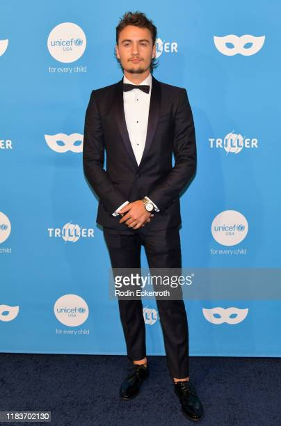 Brandon Thomas Lee attends the UNICEF Masquerade Ball at Kimpton La Peer Hotel on October 26 2019 in West Hollywood California