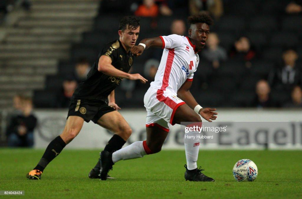 MK Dons v Leicester City - Pre-Season Friendly