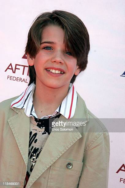 Brandon Tyler Russell during 2007 CARE Awards Presented by the Bizparentz Foundation Portraits at Universal Hollywood Globe Theatre in Universal City...