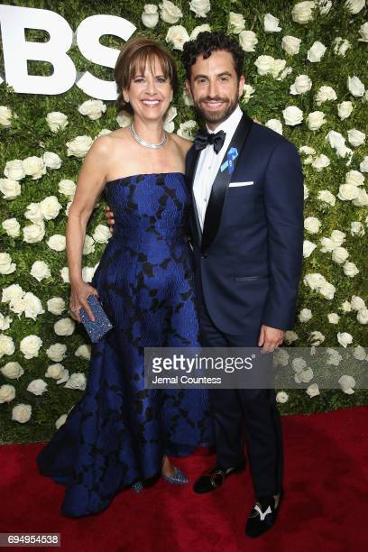 Brandon Uranowitz attends the 2017 Tony Awards at Radio City Music Hall on June 11 2017 in New York City