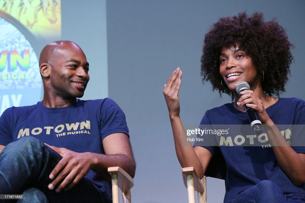 "Apple Store Soho Presents: Meet The Cast - ""Motown The Musical"""