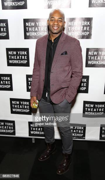 Brandon Victor Dixon attends New York Theatre Workshop's 2017 Spring Gala at the Edison Ballroom on May 15 2017 in New York City