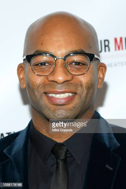 Brandon Victor Dixon attends the 2018 Arthur Miller Foundation Honors at City Winery on October 22 2018 in New York City