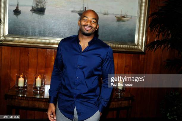 Brandon Victor Dixon attends The Cinema Society With Synchrony And Avion Host The After Party For Marvel Studios' AntMan And The Wasp at The Water...