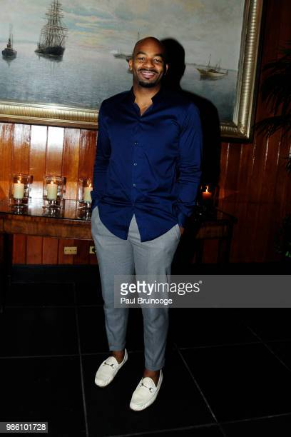 Brandon Victor Dixon attends The Cinema Society With Synchrony And Avion Host The After Party For Marvel Studios' 'AntMan And The Wasp' at The Water...