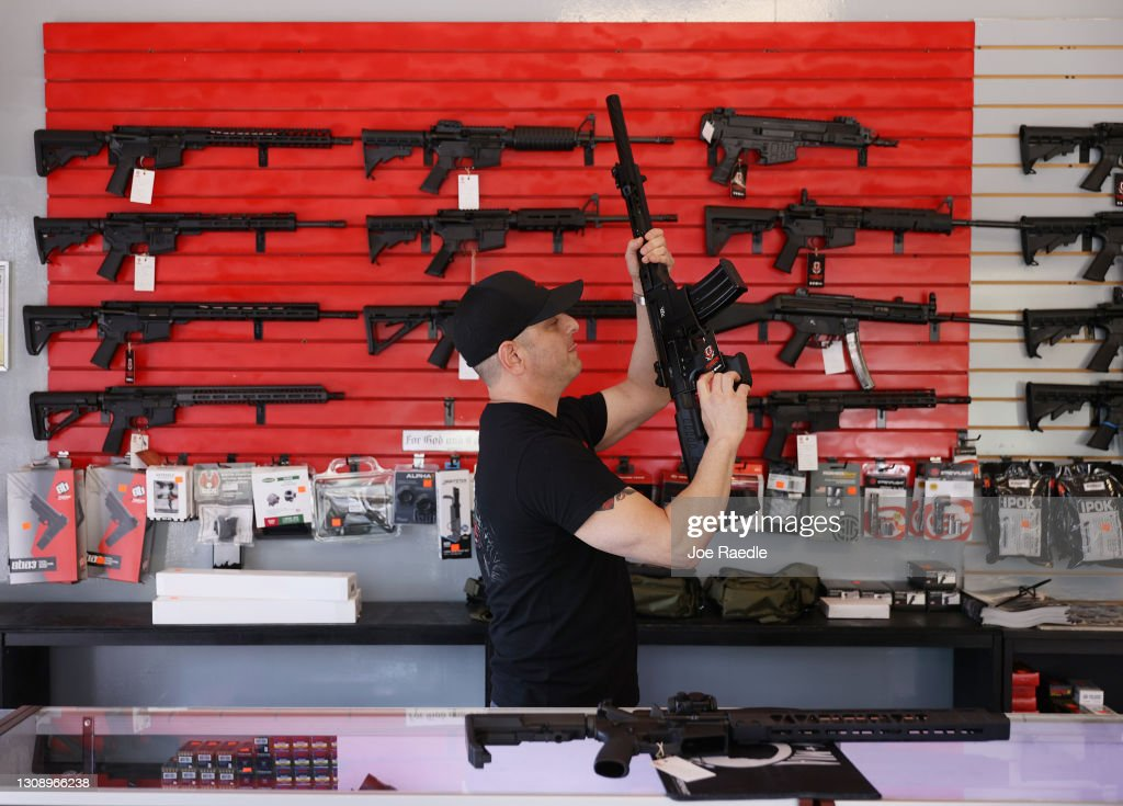 Biden Administration To Push New Gun Control Measures After Multiple Mass Shootings : News Photo