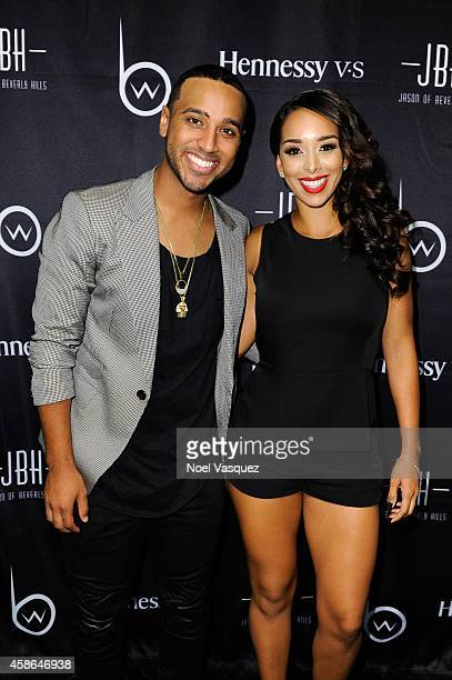 Brandon Williams and Gloria Govan attend Hennessy VS Presents Brandon Williams' Simple is Perfect Capsule Collection Launch at Austere on November 7...