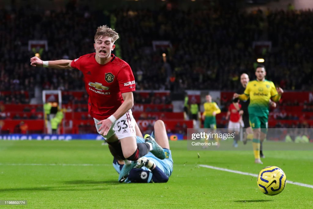 Manchester United v Norwich City - Premier League : News Photo