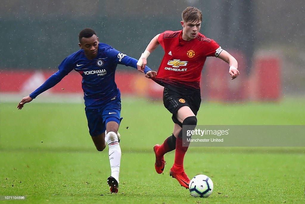 Manchester United v Chelsea: U18 Premier League : News Photo