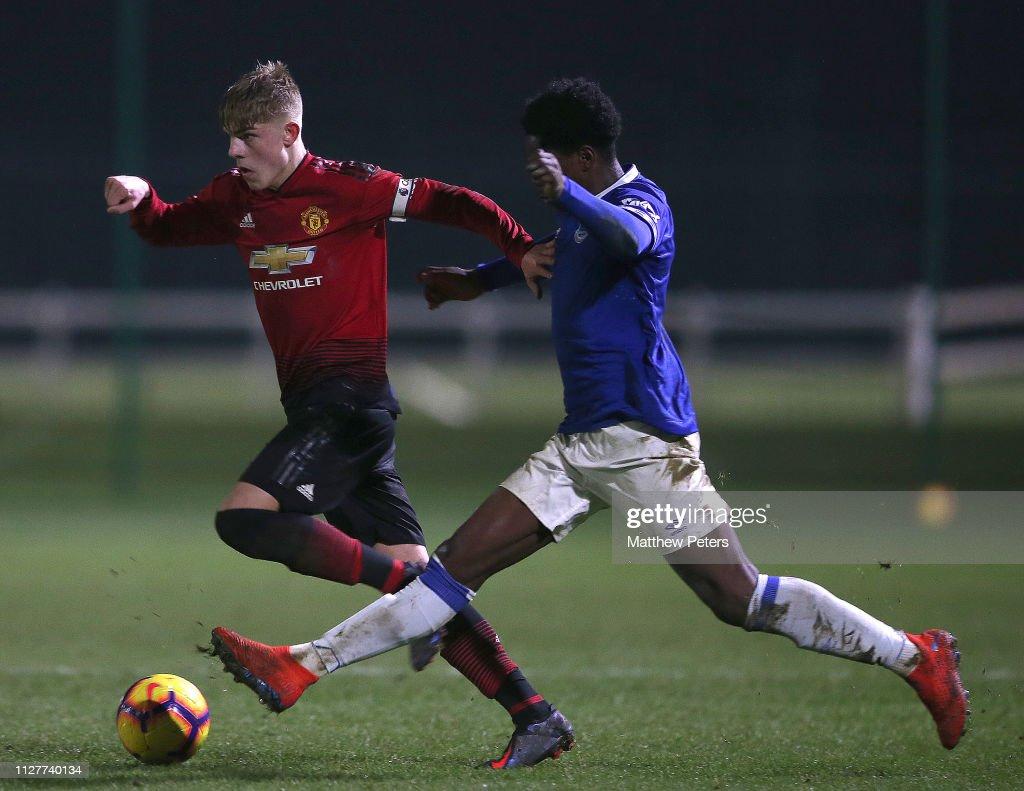 Everton v Manchester United - U18 Premier League : News Photo