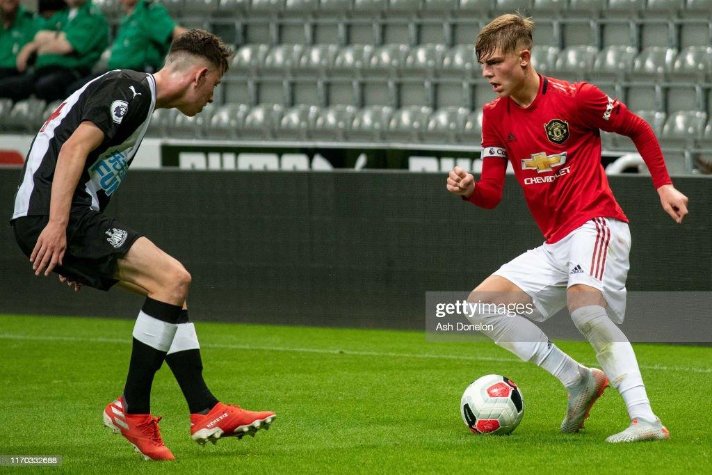 Newcastle United v Manchester United: Premier League 2 : News Photo