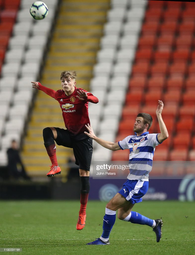 Manchester United v Reading: Premier League International Cup : News Photo