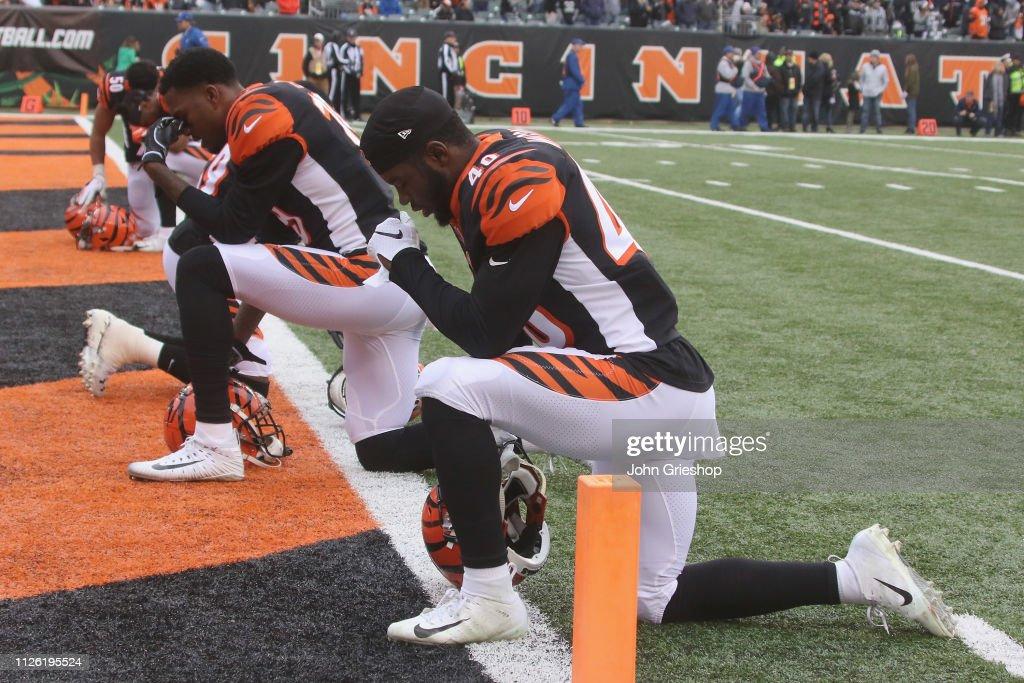Oakland Raiders v Cincinnati Bengals : News Photo