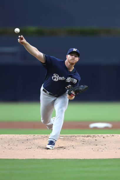 CA: Milwaukee Brewers v San Diego Padres