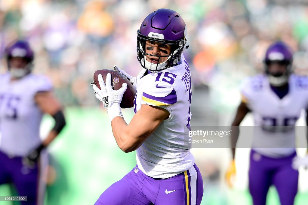 online store 7f711 1bf85 Brandon Zylstra of the Minnesota Vikings gets a first down ...