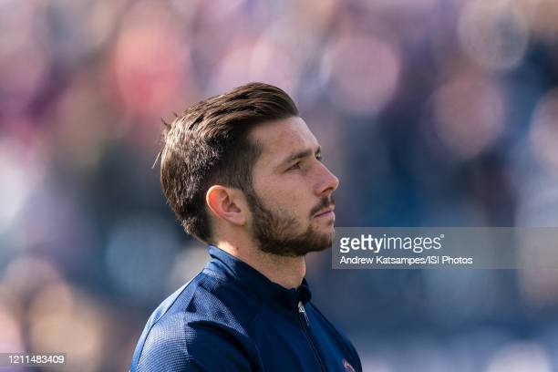 Brandt Bronico of Chicago Fire during a game between Chicago Fire and New England Revolution at Gillette Stadium on March 7 2020 in Foxborough...