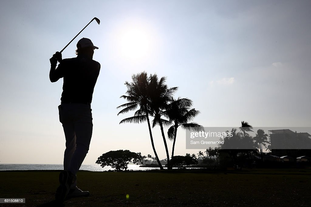 Brandt Snedeker of the United States plays a shot during the Pro-Am Tounament prior to the Sony Open In Hawaii at Waialae Country Club on January 11, 2017 in Honolulu, Hawaii.