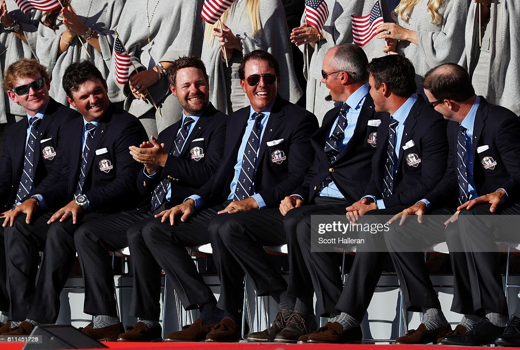 2016 Ryder Cup - Opening Ceremony : News Photo
