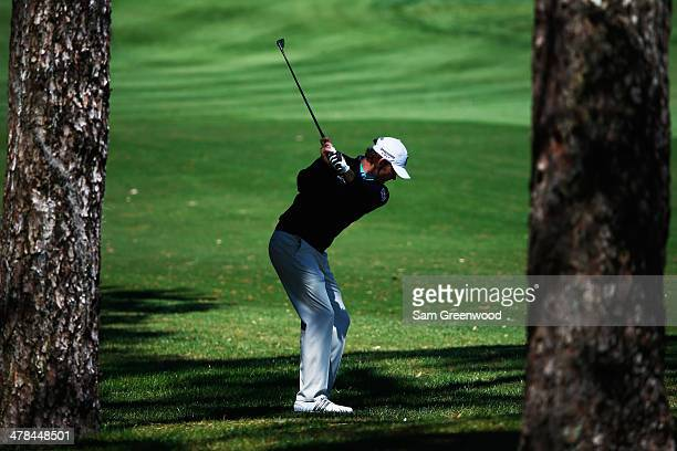 Brandt Snedeker plays a shot on the 6th hole during the first round of the Valspar Championship at Innisbrook Resort and Golf Club on March 13 2014...