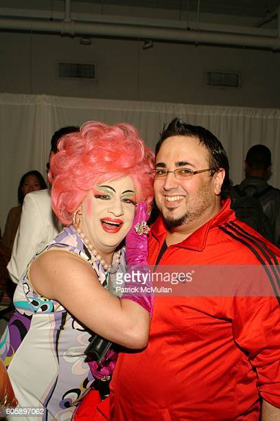 Brandwine and Mauricio Padilha attend AMANDA LEPORE DOLL cocktail party at Jeffrey on April 11 2006 in New York City