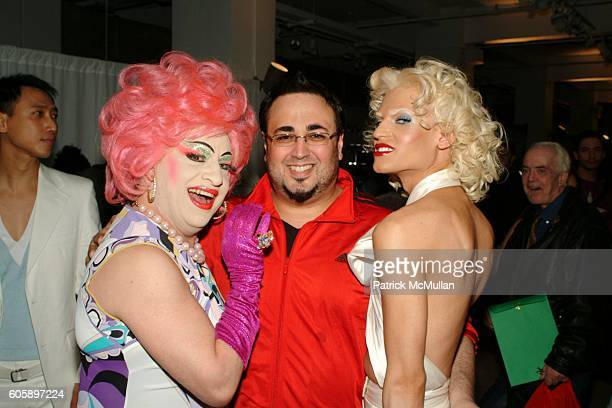 Brandwine Mauricio Padilha and Phillipe Blond attend AMANDA LEPORE DOLL cocktail party at Jeffrey on April 11 2006 in New York City