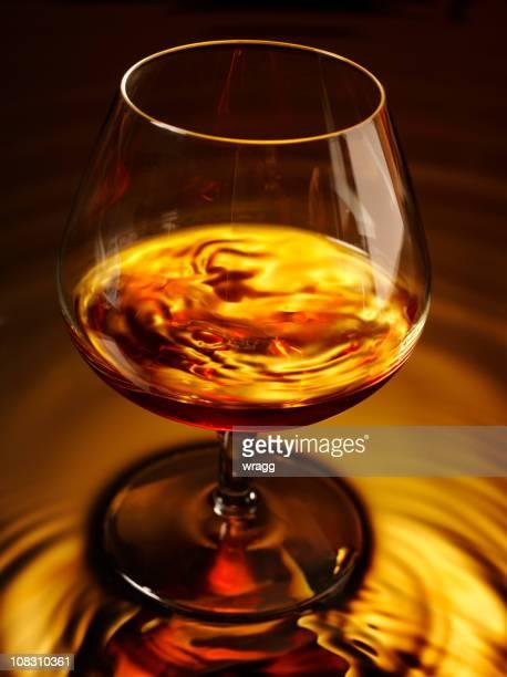 Brandy und Glas