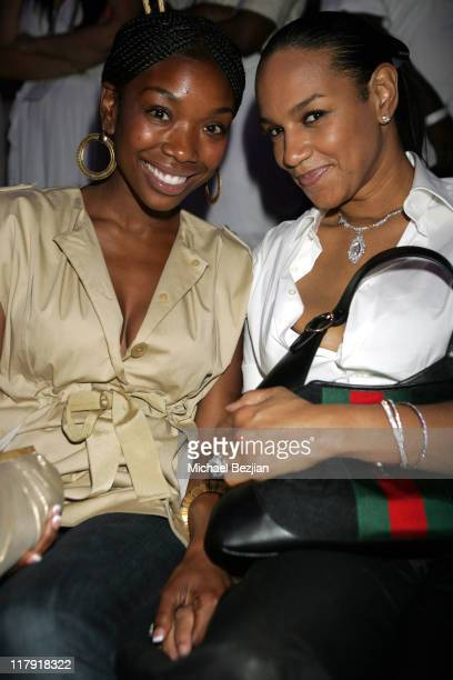 Brandy and Jackie Christie during Doug and Jackie Christie's New Book No Ordinary Love A True Story of Marriage and Basketball DVD Release Party at...