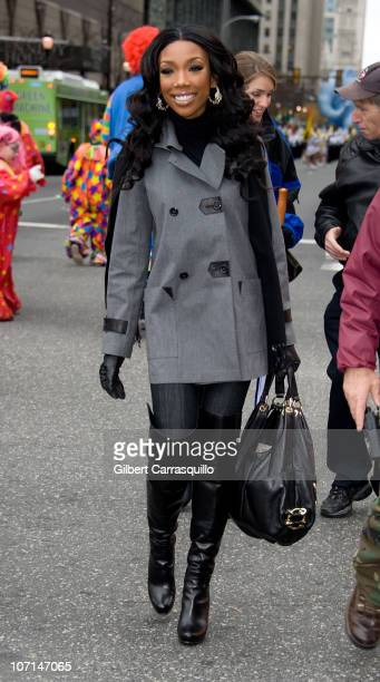 Brandy attends the 91st Annual 6ABC IKEA Thanksgiving Day Parade on November 25, 2010 in Philadelphia, Pennsylvania.