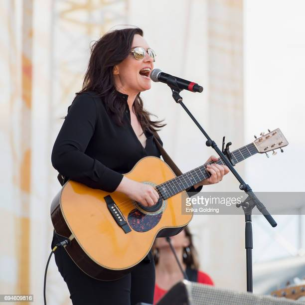 Brandy Clark performs during the 2017 CMA Music Festival on June 10 2017 in Nashville Tennessee