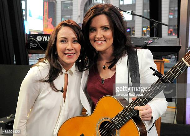 AMERICA Brandy Clark performs live and Patricia Heaton of ABC's 'The Middle' is a guest on 'Good Morning America' 1/12/15 airing on the ABC...