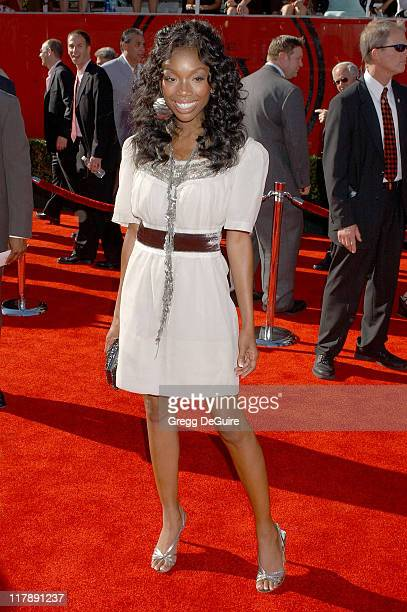 Brandy during 2006 ESPY Awards - Arrivals at Kodak Theatre in Los Angeles, California, United States.