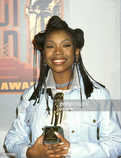 Brandy during The 9th Annual Soul Train Music Awards at Shrine Auditorium in Los Angeles California United States