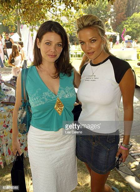 Brandy Ledford and Meredith Salenger at Clothes Horse during the Silver Spoon Beauty Buffet Sponsored By Allure Day One Photo by Lee Celano/WireImage...