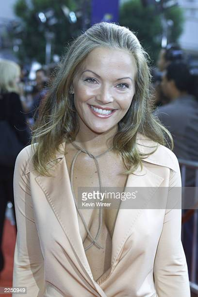Brandy Ledford at the premiere of Rat Race at the Cineplex Odeon Century Plaza in Los Angeles Ca 7/30/01 Photo by Kevin Winter/Getty Images