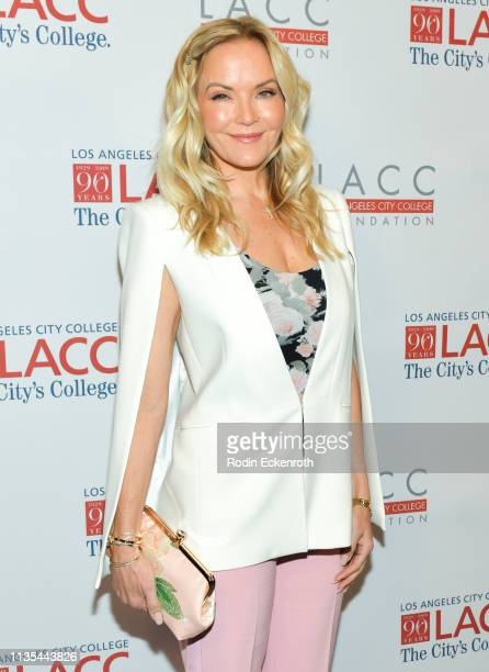 Brandy Ledford attends the Los Angeles Community College 2019 Gala at Regent Beverly Wilshire Hotel on March 12 2019 in Beverly Hills California