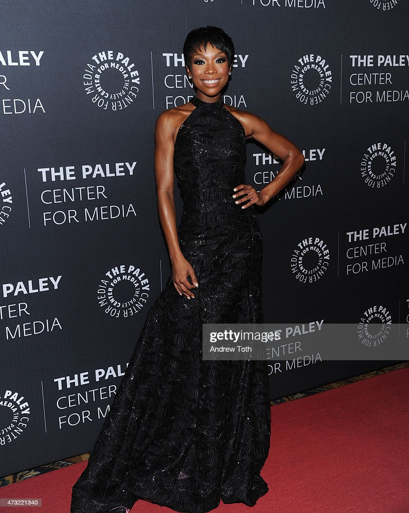 Brandy Norwood attends A Tribute To African-American Achievements In Television hosted by The Paley Center For Media at Cipriani Wall Street on May 13, 2015 in New York City.