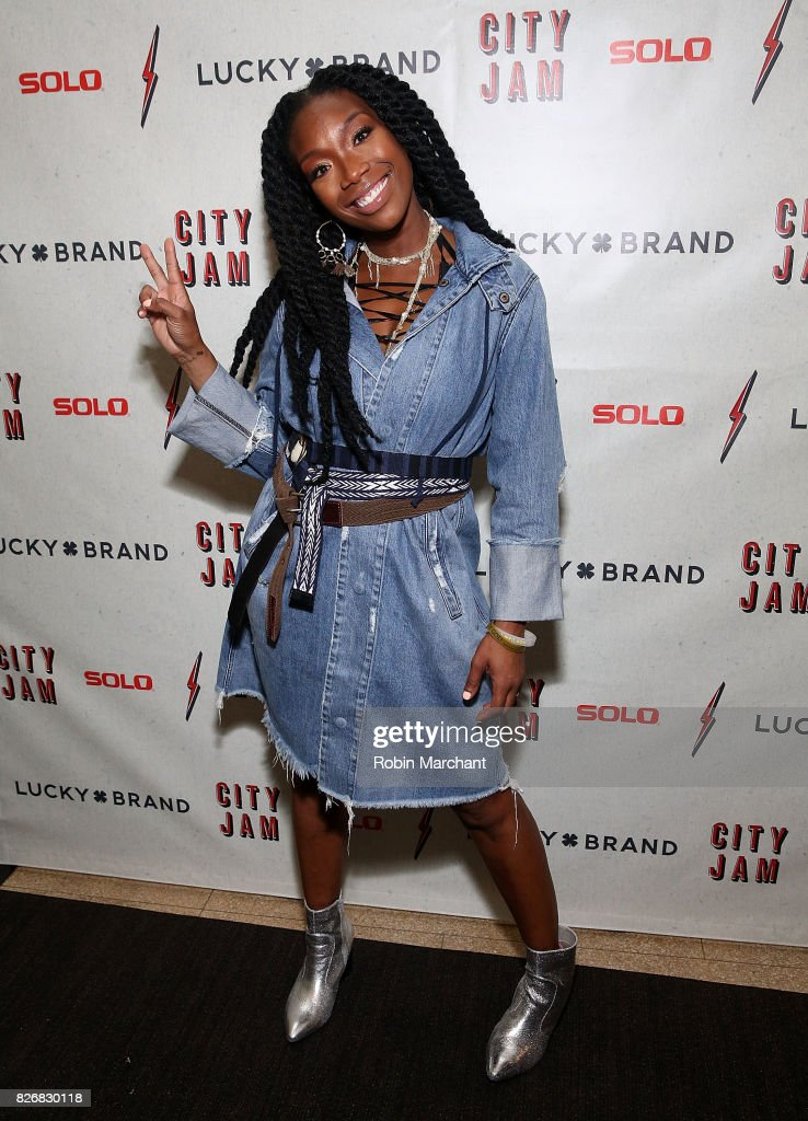 Brandy Norwood attends Lucky Brand Presents Lucky Lounge: City Jam with Brandy at Freehand Chicago on August 5, 2017 in Chicago, Illinois.